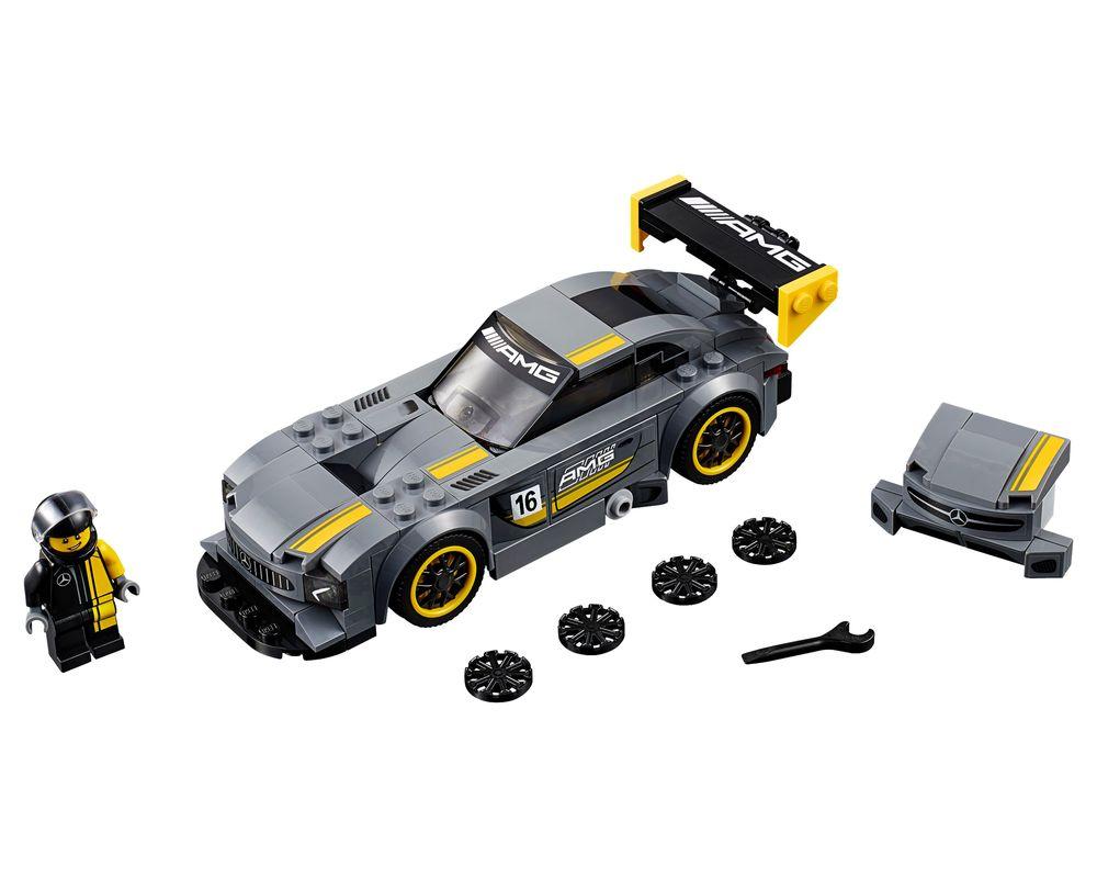 LEGO Set 75877-1 Mercedes-AMG GT3 (Model - A-Model)