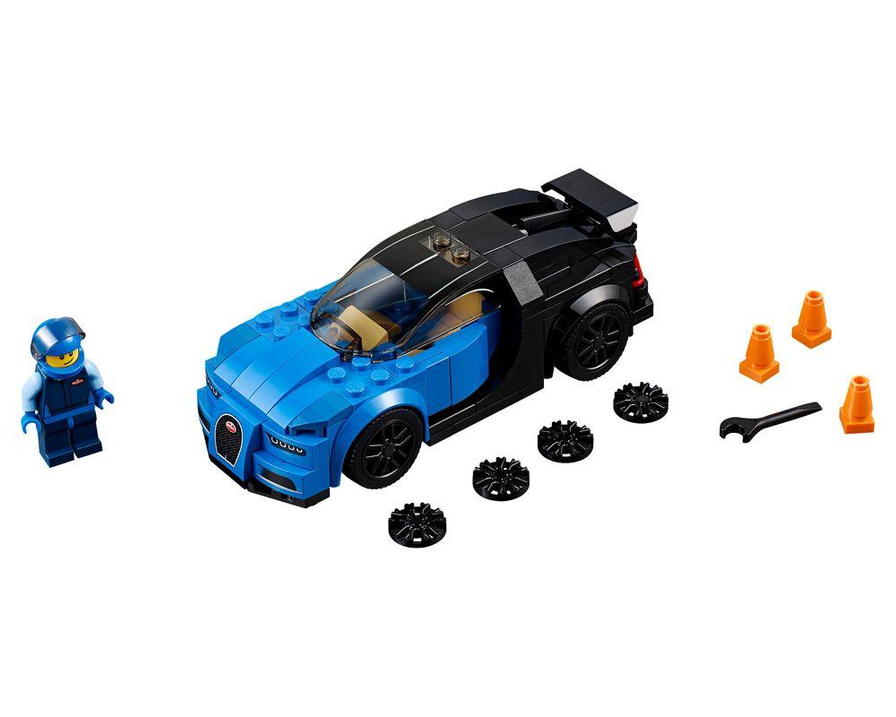 LEGO Set 75878-1 Bugatti Chiron (LEGO - Model)