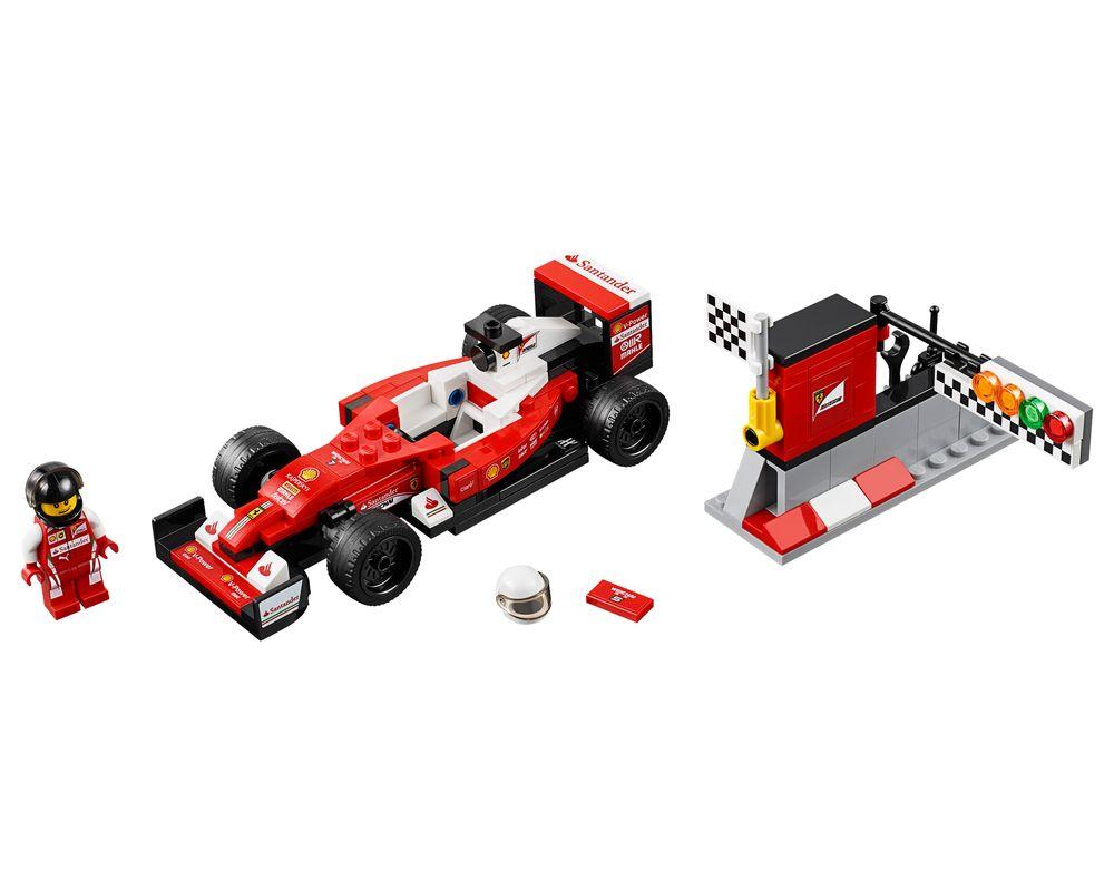 LEGO Set 75879-1 Scuderia Ferrari SF16-H (Model - A-Model)
