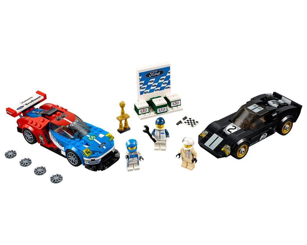 LEGO Set 75881-1 2016 Ford GT & 1966 Ford GT40 (LEGO - Model)