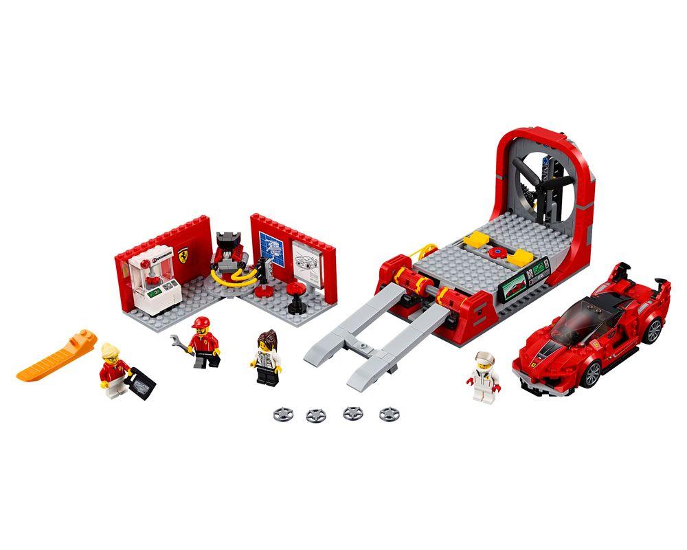 LEGO Set 75882-1 Ferrari FXX K & Development Center (Model - A-Model)