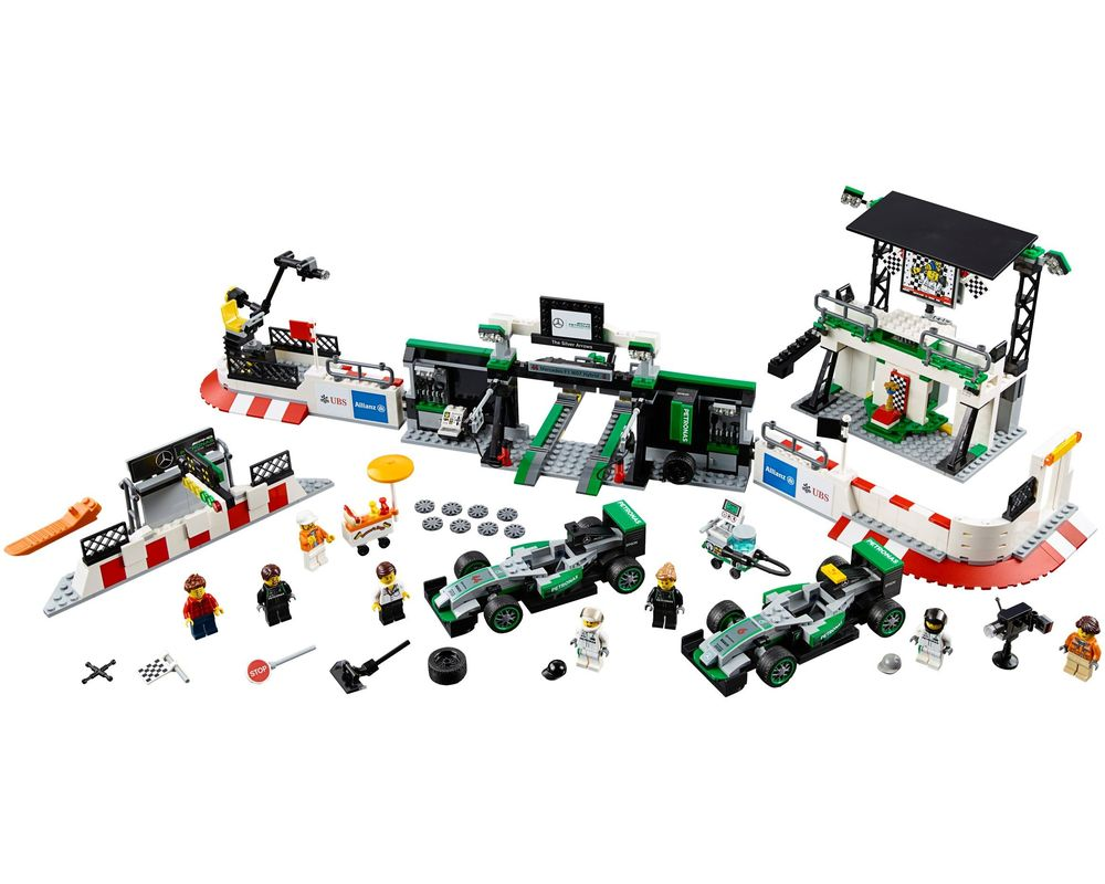 LEGO Set 75883-1 MERCEDES AMG PETRONAS Formula One Team (Model - A-Model)