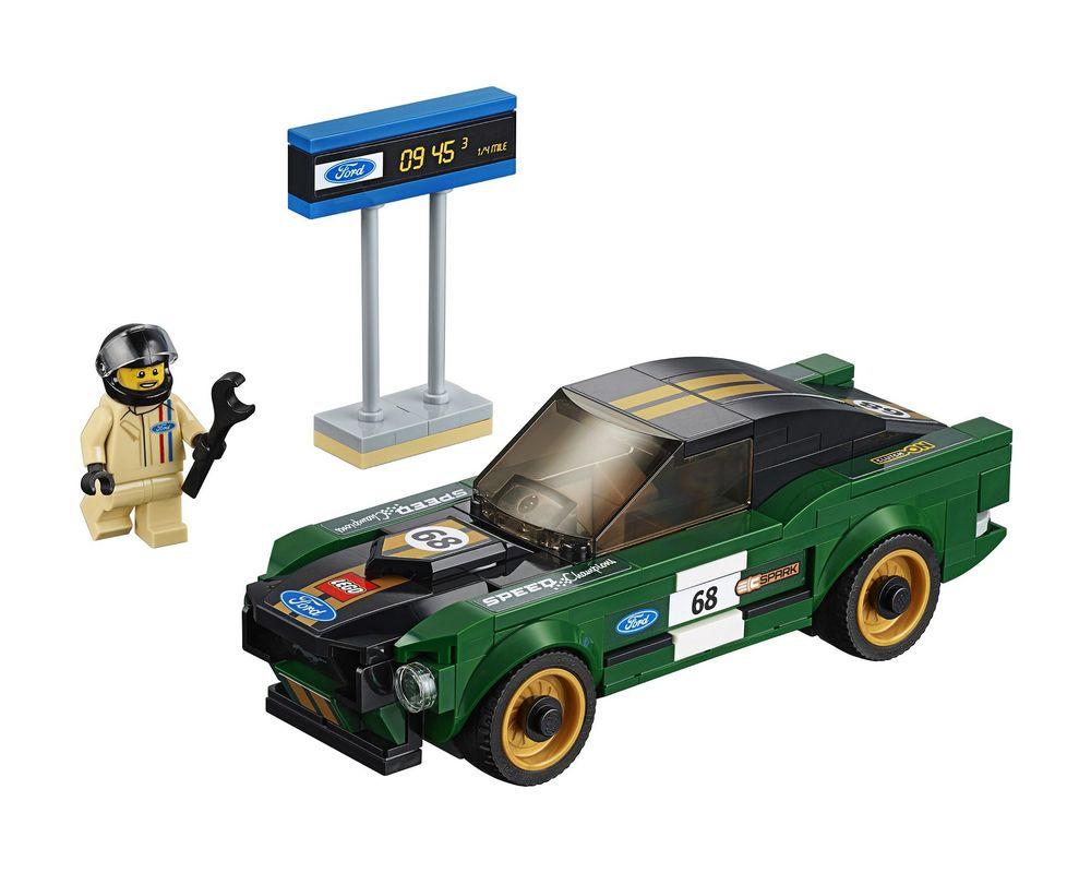 LEGO Set 75884-1 1968 Ford Mustang Fastback (Model - A-Model)