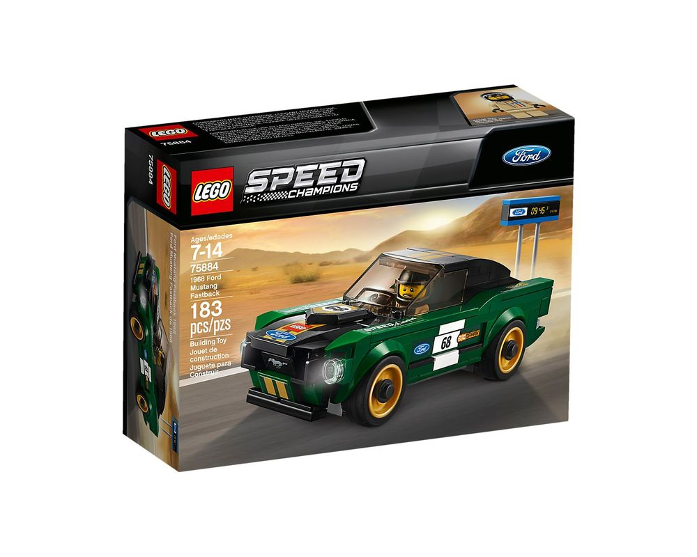 LEGO Set 75884-1 1968 Ford Mustang Fastback