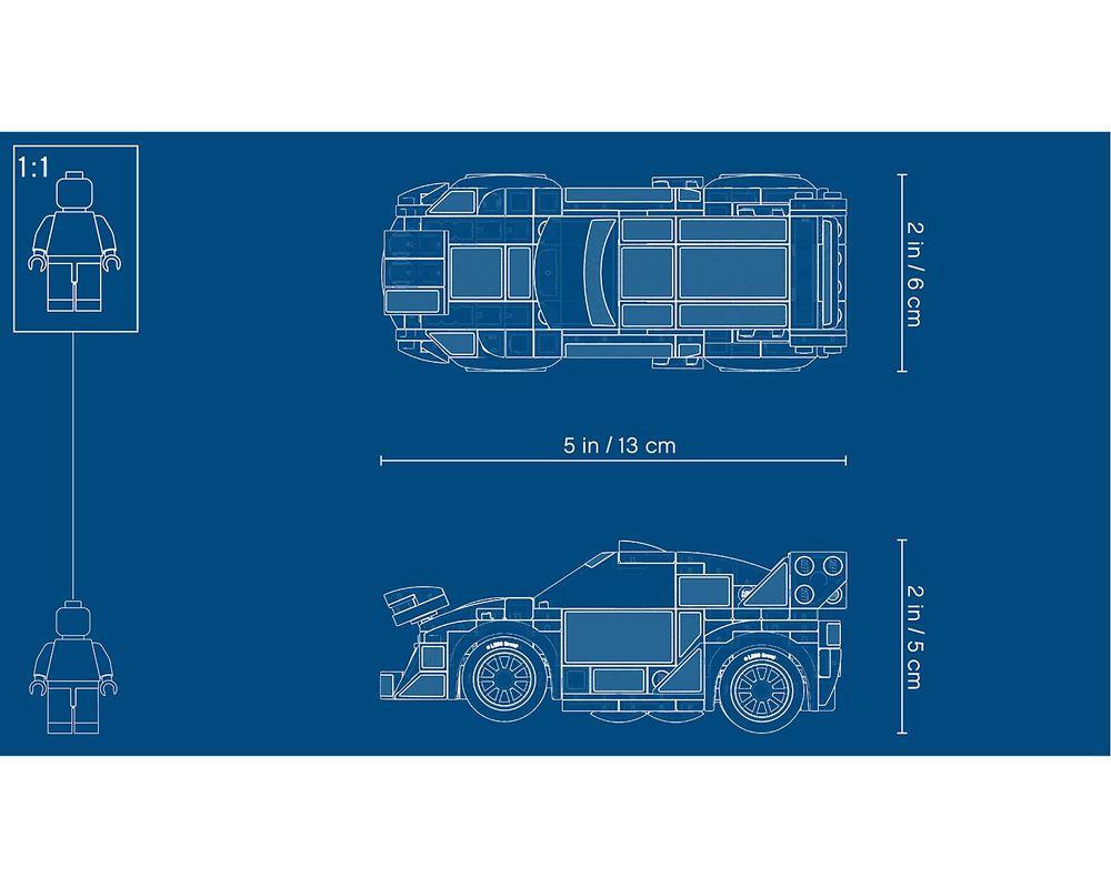 LEGO Set 75885-1 Ford Fiesta M-Sport WRC