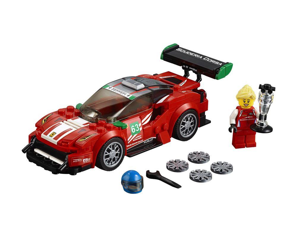 """LEGO Set 75886-1 Ferrari 488 GT3 """"Scuderia Corsa"""" (LEGO - Model)"""