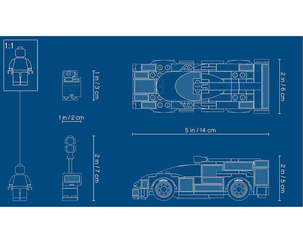 LEGO Set 75887-1 Porsche 919 Hybrid