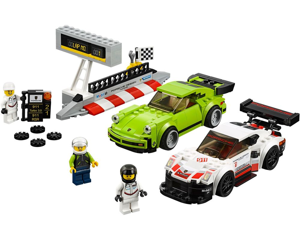 LEGO Set 75888-1 Porsche 911 RSR and 911 Turbo 3.0 (Model - A-Model)