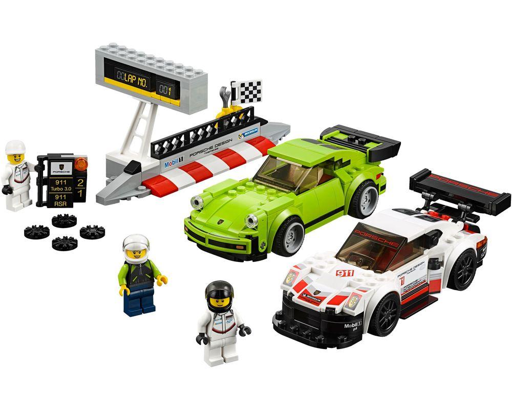 LEGO Set 75888-1 Porsche 911 RSR and 911 Turbo 3.0 (LEGO - Model)