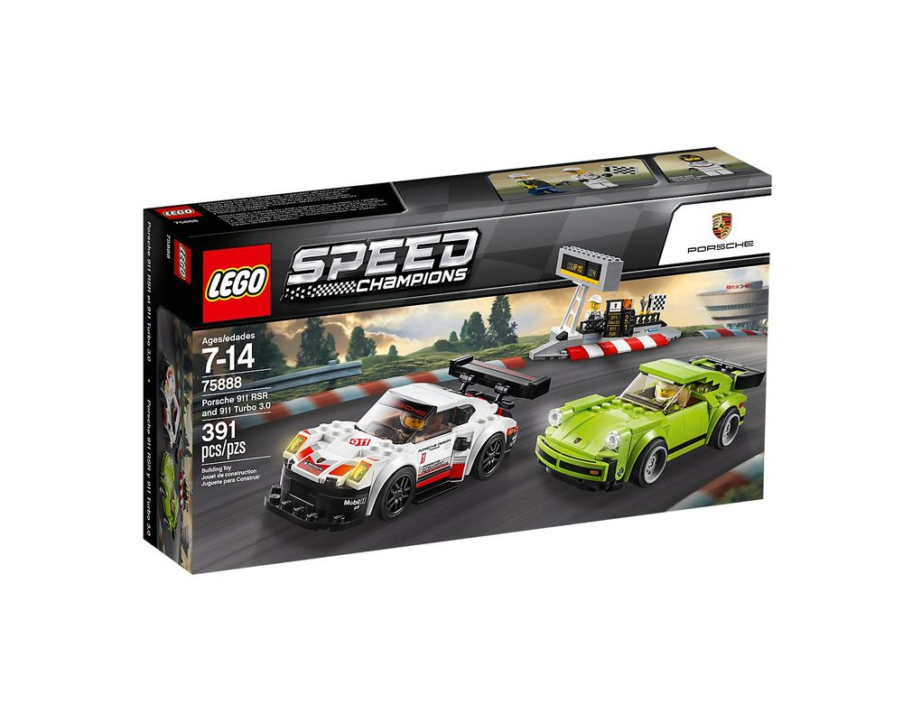 LEGO Set 75888-1 Porsche 911 RSR and 911 Turbo 3.0
