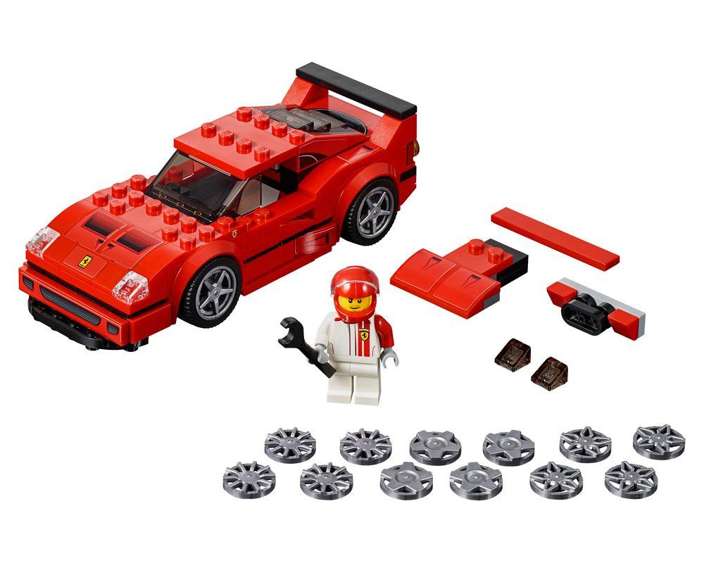 LEGO Set 75890-1 Ferrari F40 Competizione (Model - A-Model)
