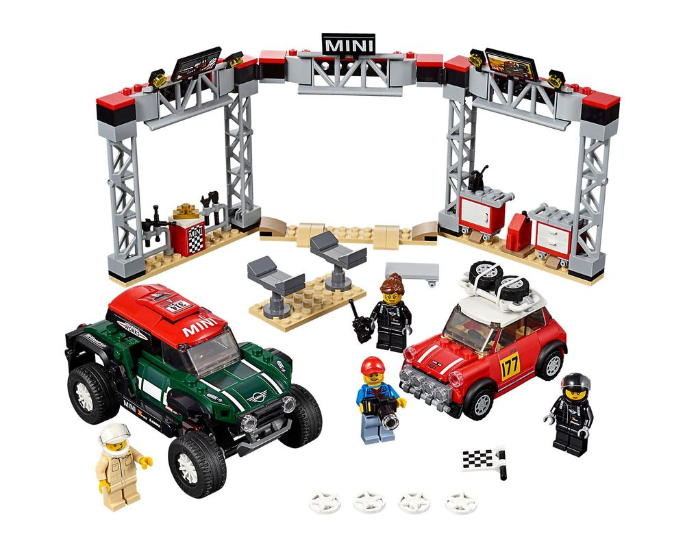 LEGO Set 75894-1 1967 Mini Cooper S Rally and 2018 MINI John Cooper Works Buggy (Model - A-Model)