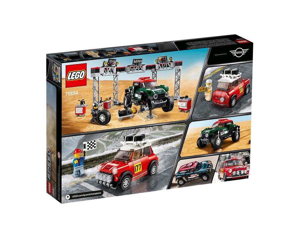 LEGO Set 75894-1 1967 Mini Cooper S Rally and 2018 MINI John Cooper Works Buggy