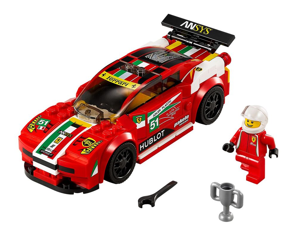 LEGO Set 75908-1 458 Italia GT2