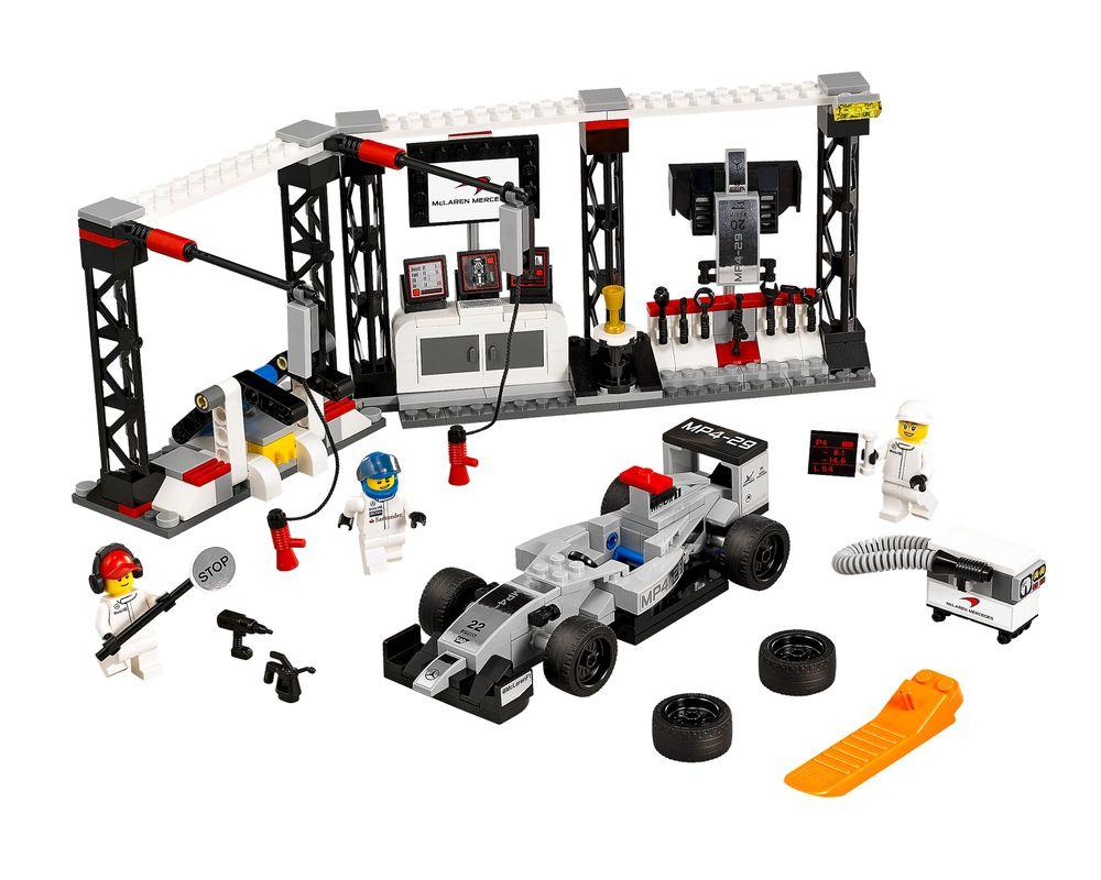 LEGO Set 75911-1 McLaren Mercedes Pit Stop (LEGO - Model)