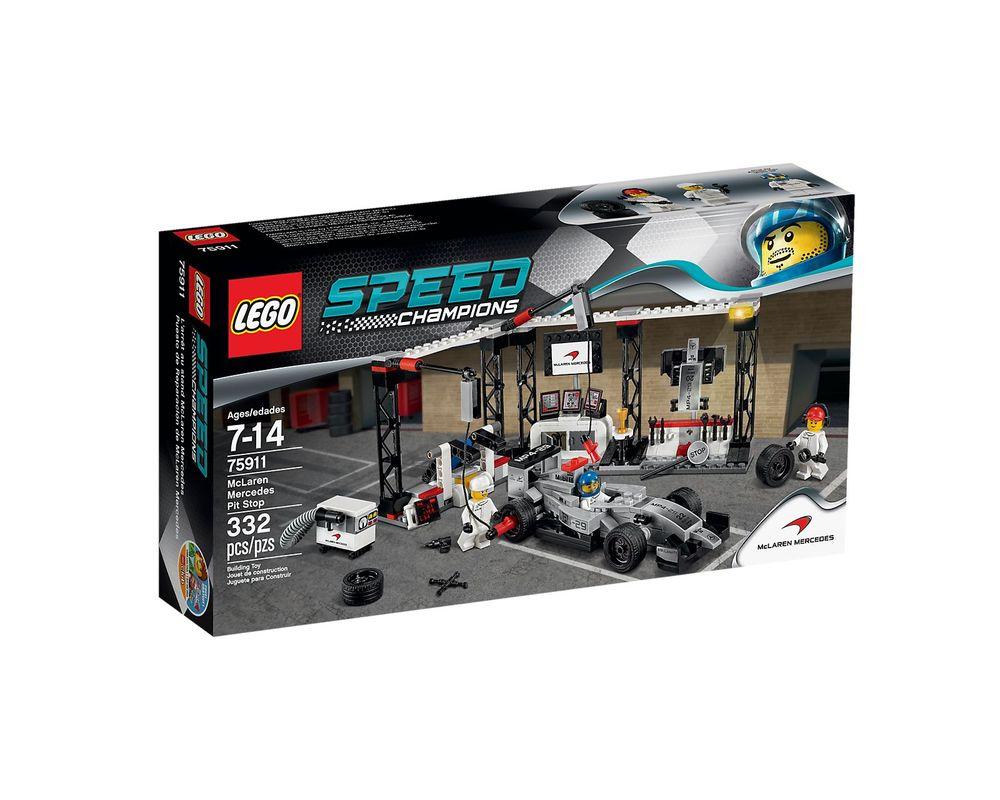 LEGO Set 75911-1 McLaren Mercedes Pit Stop
