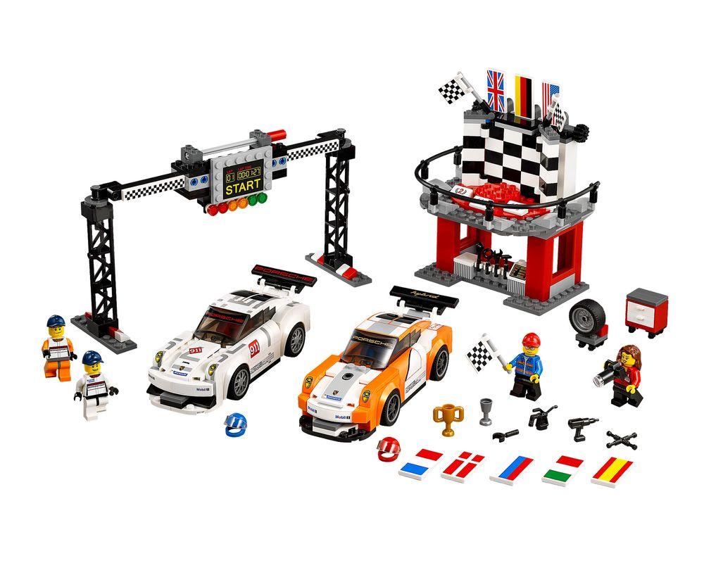 LEGO Set 75912-1 Porsche 911 GT Finish Line (LEGO - Model)