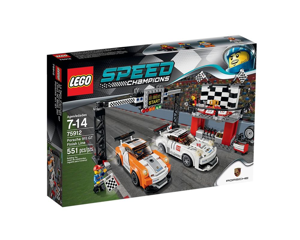 LEGO Set 75912-1 Porsche 911 GT Finish Line
