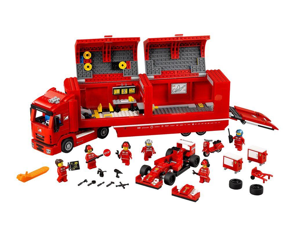 LEGO Set 75913-1 F14 T & Scuderia Ferrari Truck (Model - A-Model)