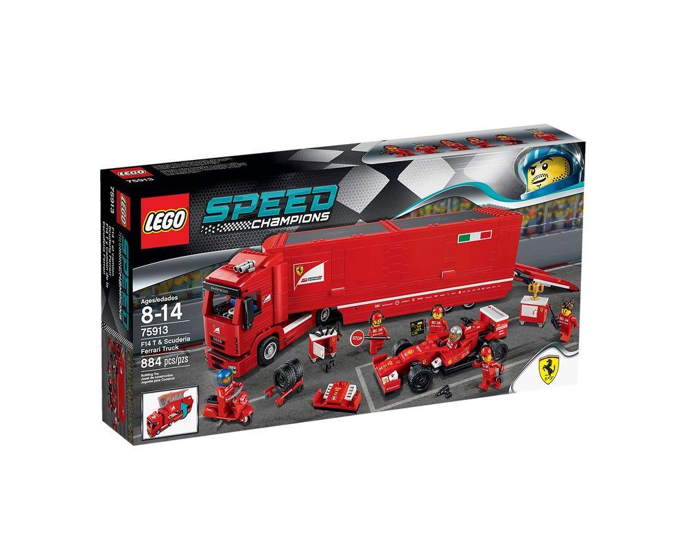 LEGO Set 75913-1 F14 T & Scuderia Ferrari Truck