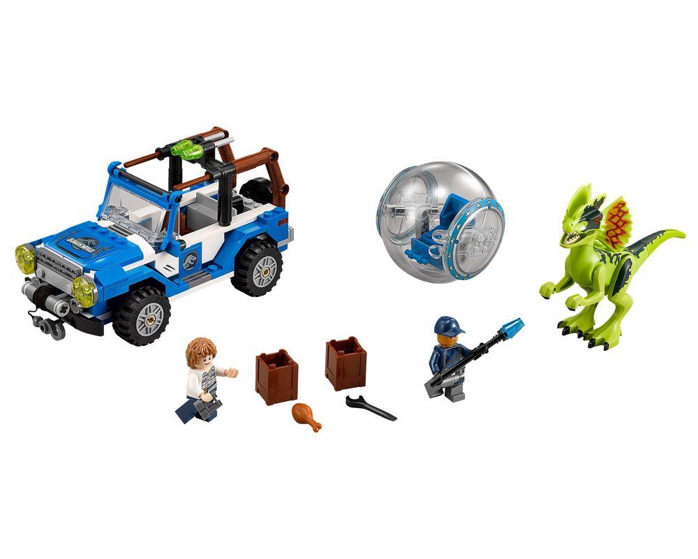 LEGO Set 75916-1 Dilophosaurus Ambush (LEGO - Model)