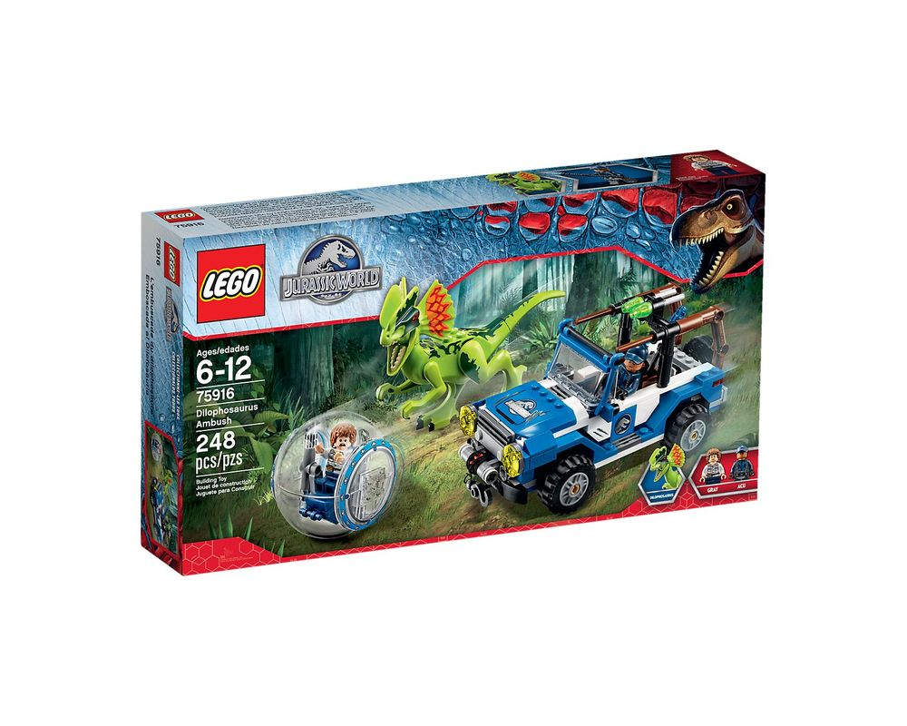 LEGO Set 75916-1 Dilophosaurus Ambush