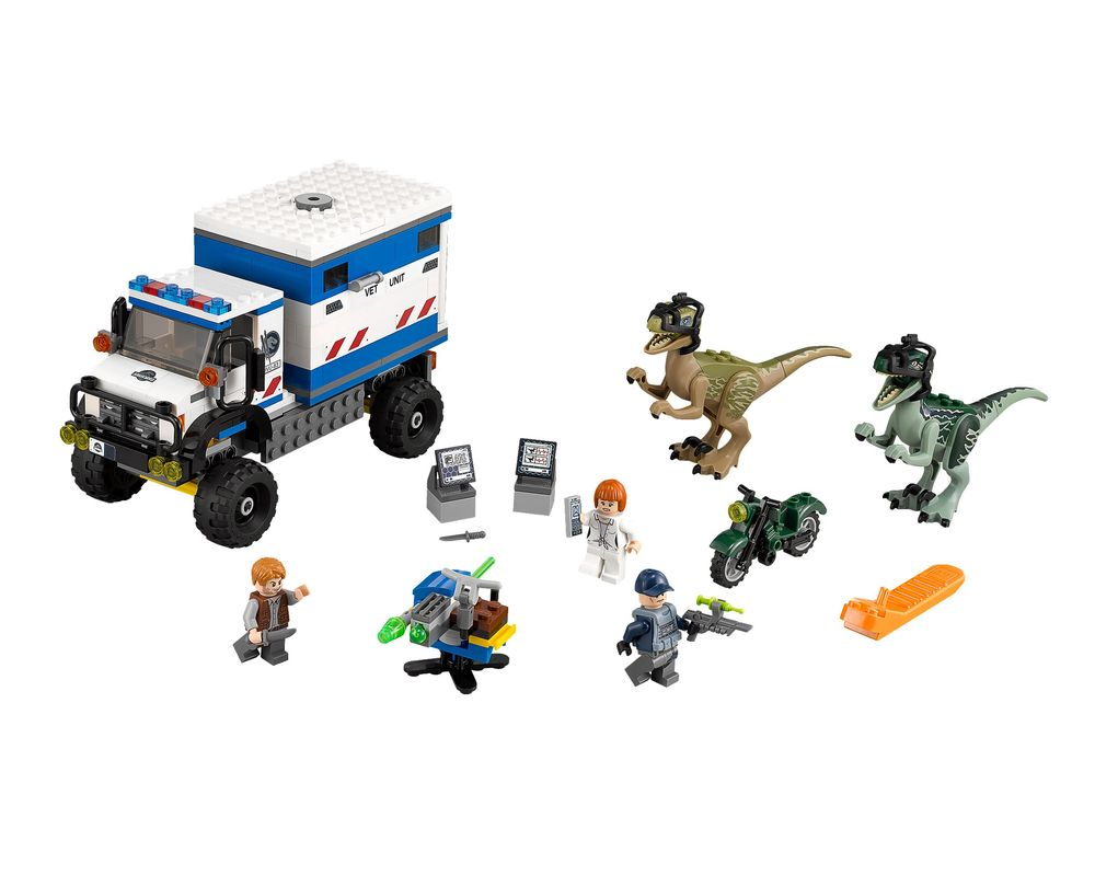 LEGO Set 75917-1 Raptor Rampage (Model - A-Model)