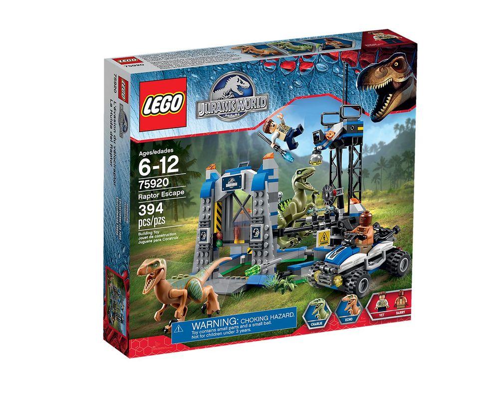 LEGO Set 75920-1 Raptor Escape