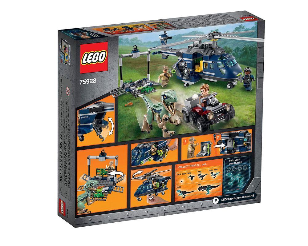 LEGO Set 75928-1 Blue's Helicopter Pursuit