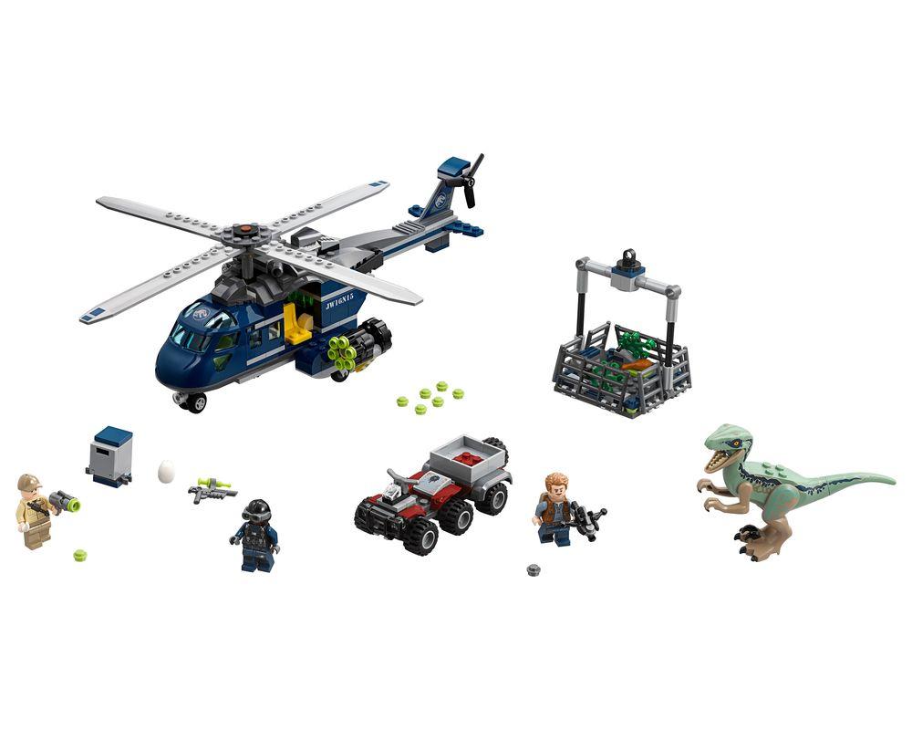LEGO Set 75928-1 Blue's Helicopter Pursuit (LEGO - Model)