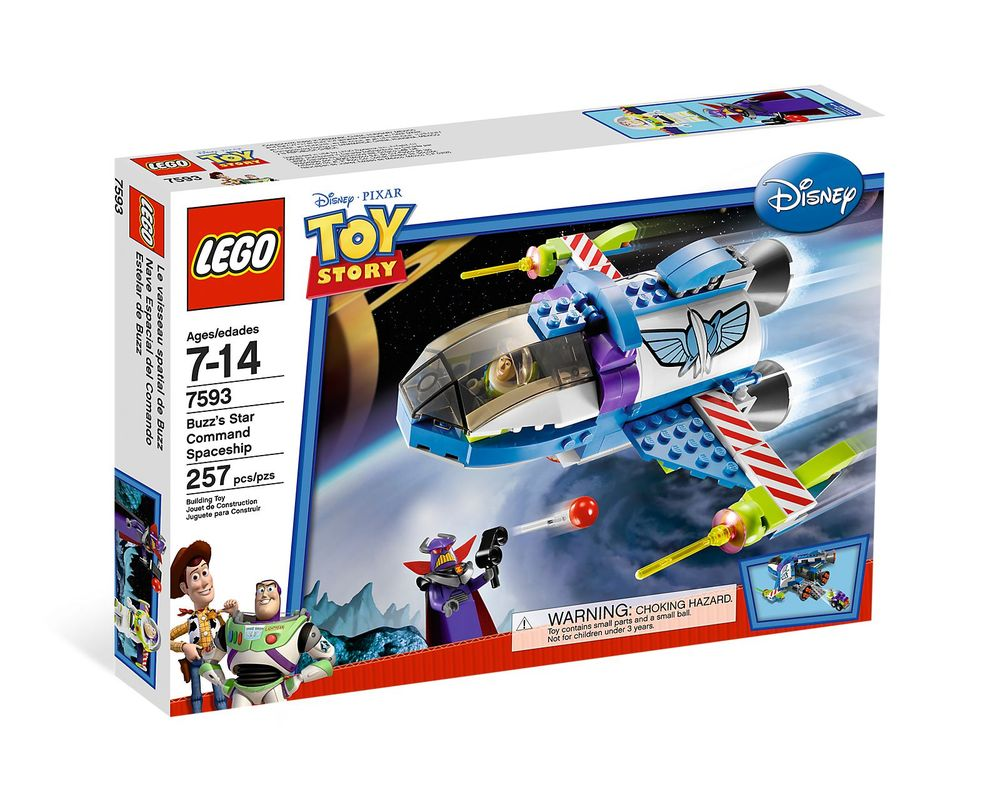 LEGO Set 7593-1 Buzz's Star Command Spaceship