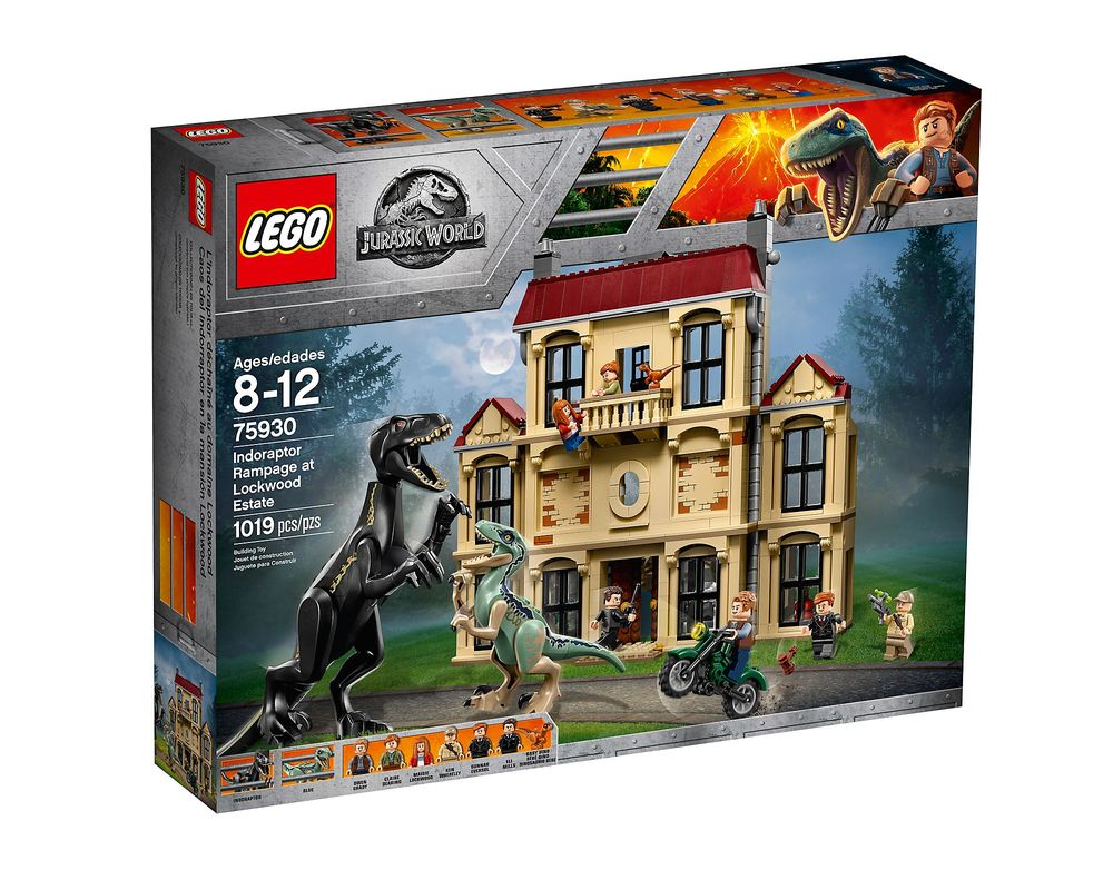 LEGO Set 75930-1 Indoraptor Rampage at Lockwood