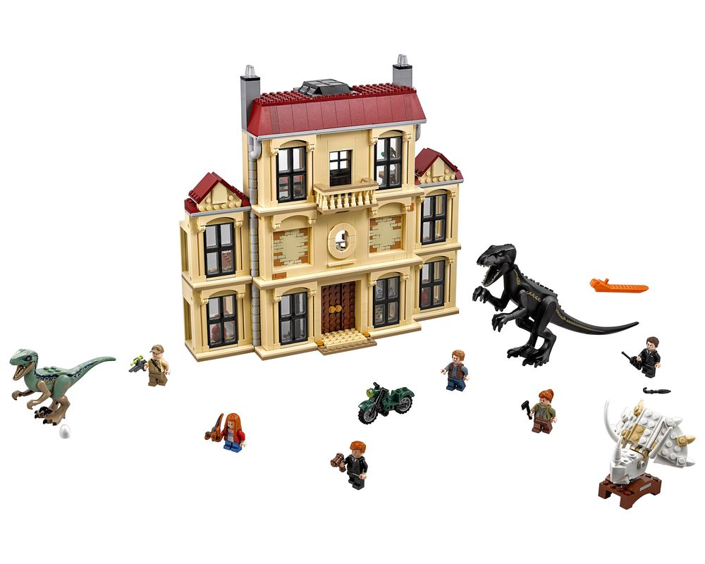 LEGO Set 75930-1 Indoraptor Rampage at Lockwood (Model - A-Model)