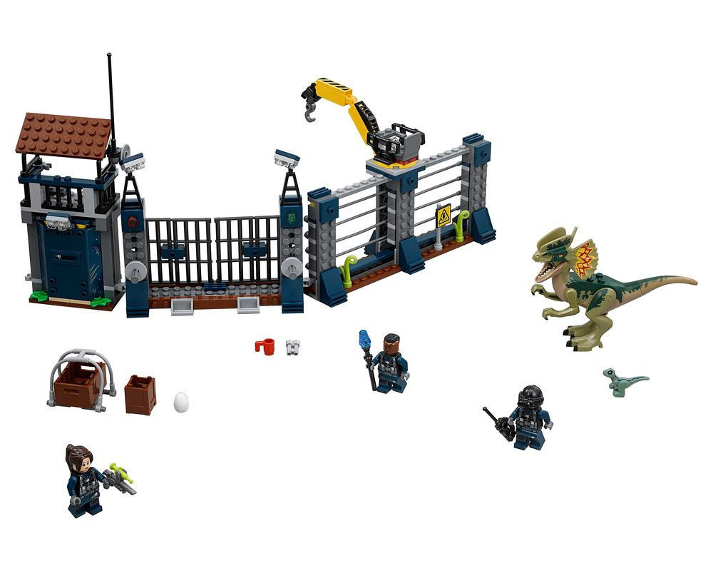 LEGO Set 75931-1 Dilophosaurus Outpost Attack (Model - A-Model)