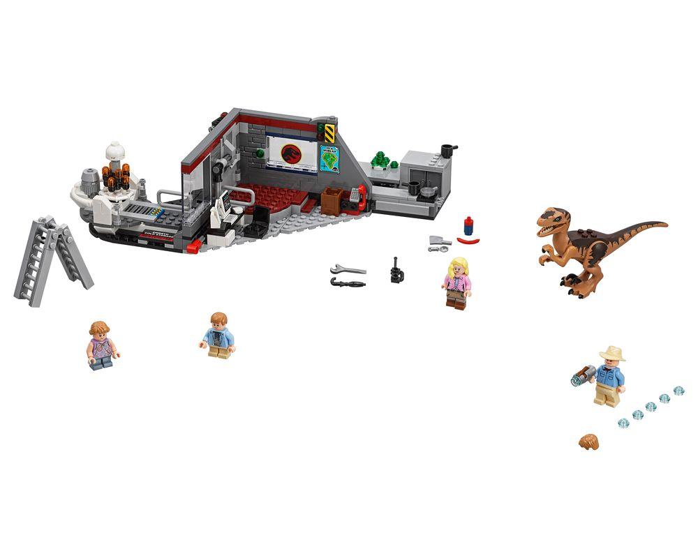 LEGO Set 75932-1 Jurassic Park Velociraptor Chase (Model - A-Model)