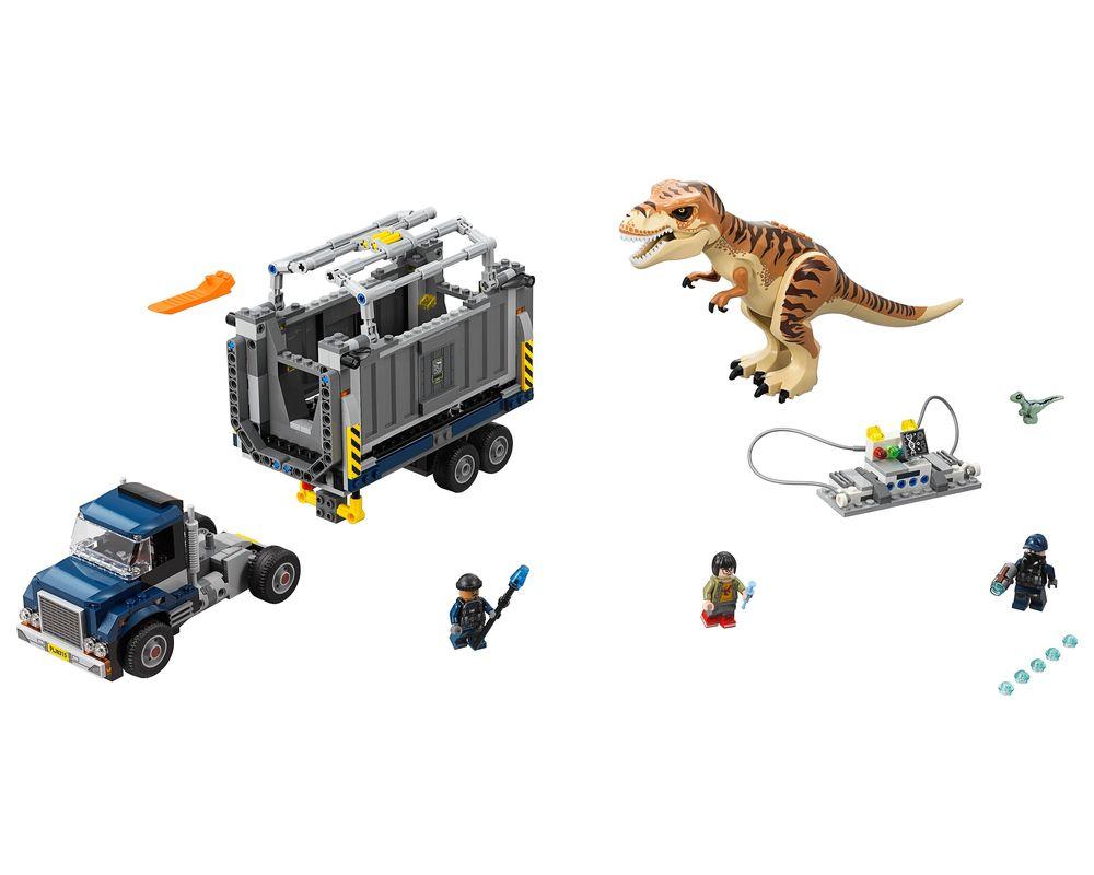LEGO Set 75933-1 T-Rex Transport (Model - A-Model)