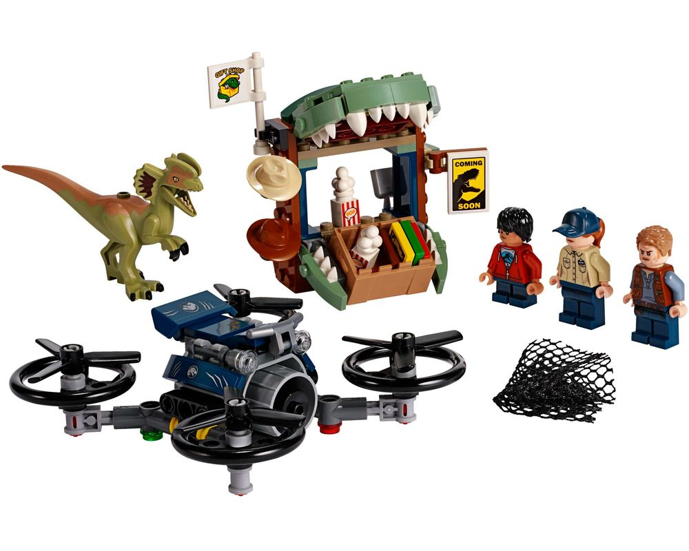 LEGO Set 75934-1 Dilophosaurus on the Loose (Model - A-Model)