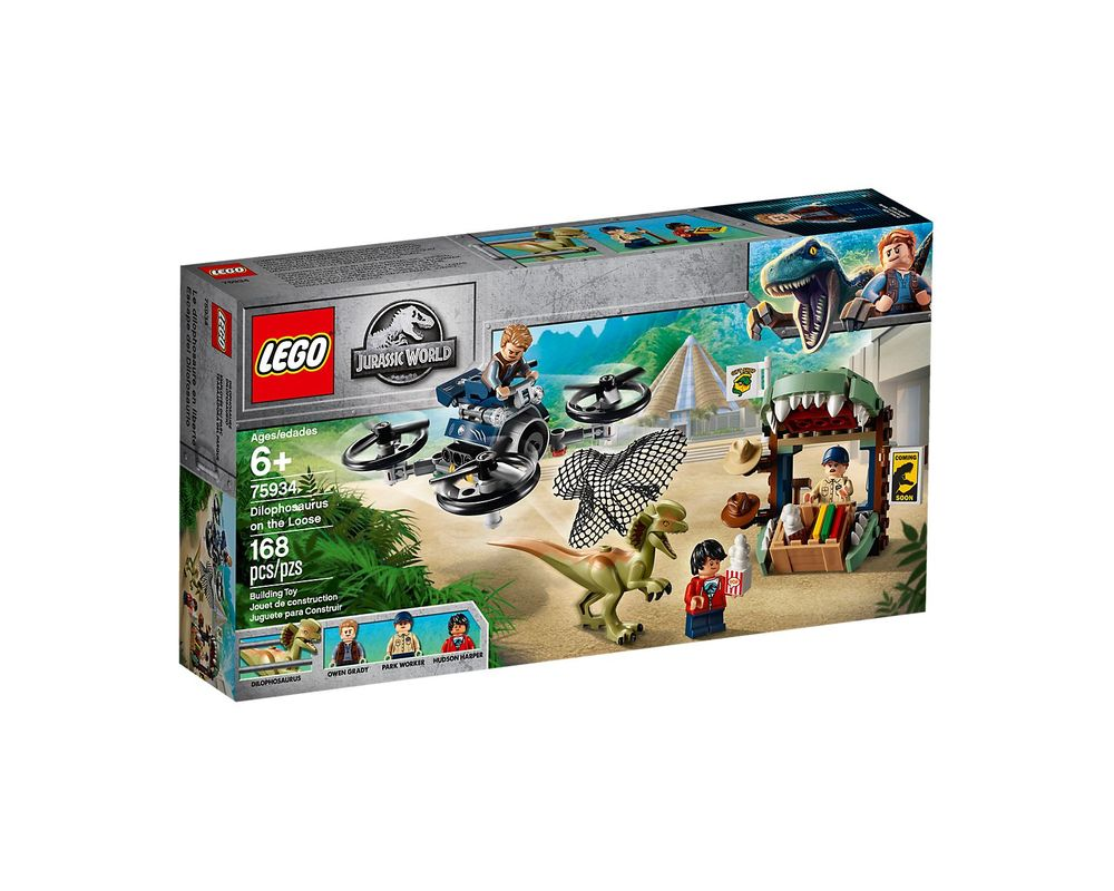 LEGO Set 75934-1 Dilophosaurus on the Loose
