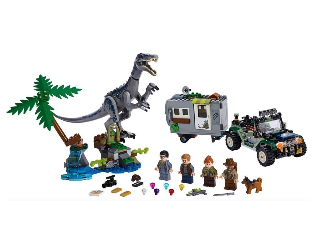 LEGO Set 75935-1 Baryonyx Face-Off: The Treasure Hunt (LEGO - Model)
