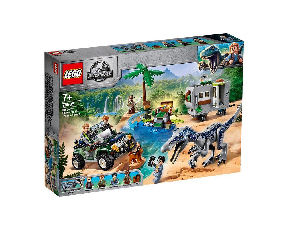 LEGO Set 75935-1 Baryonyx Face-Off: The Treasure Hunt