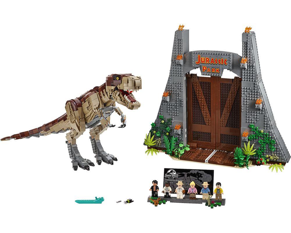 LEGO Set 75936-1 Jurassic Park: T.rex Rampage (LEGO - Model)