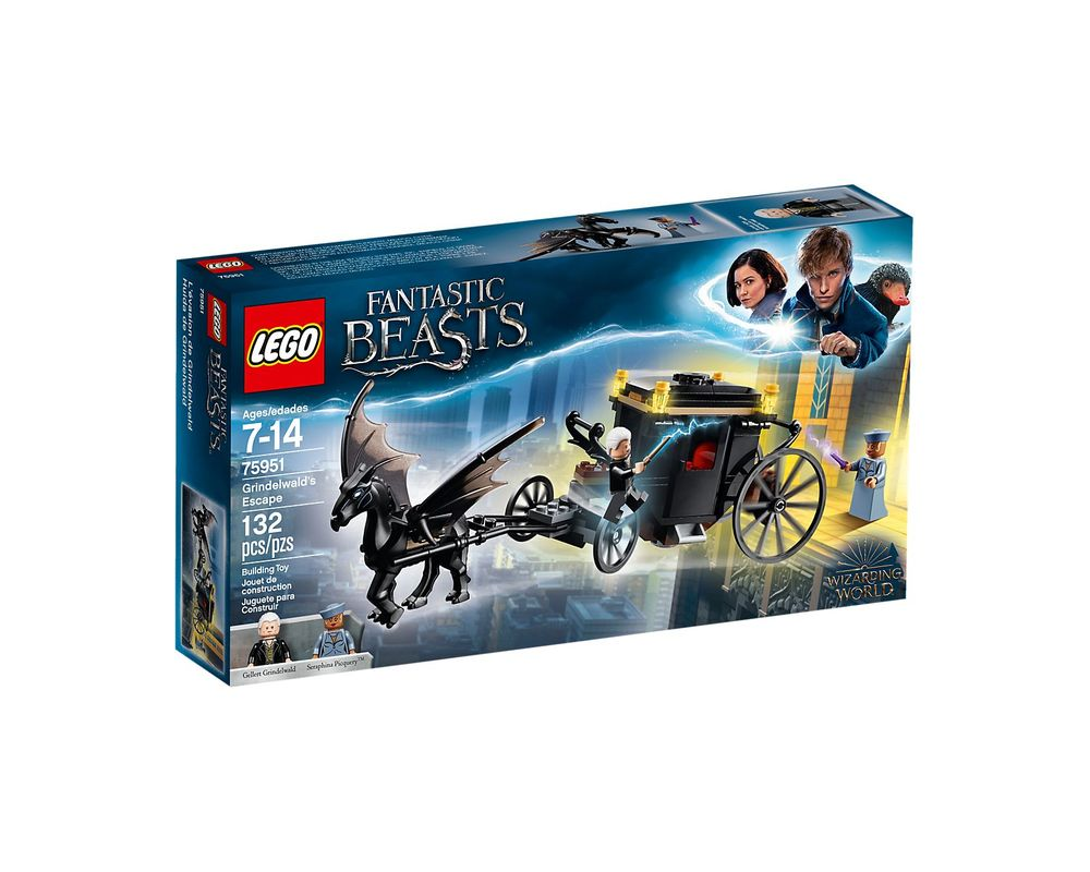 LEGO Set 75951-1 Grindelwald's Escape