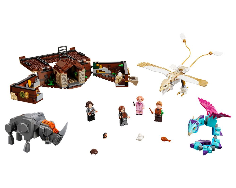LEGO Set 75952-1 Newt's Case of Magical Creatures (LEGO - Model)