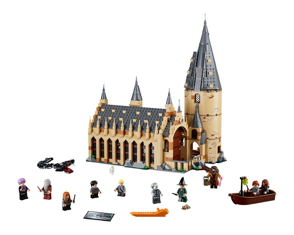 LEGO Set 75954-1 Hogwarts Great Hall (Model - A-Model)