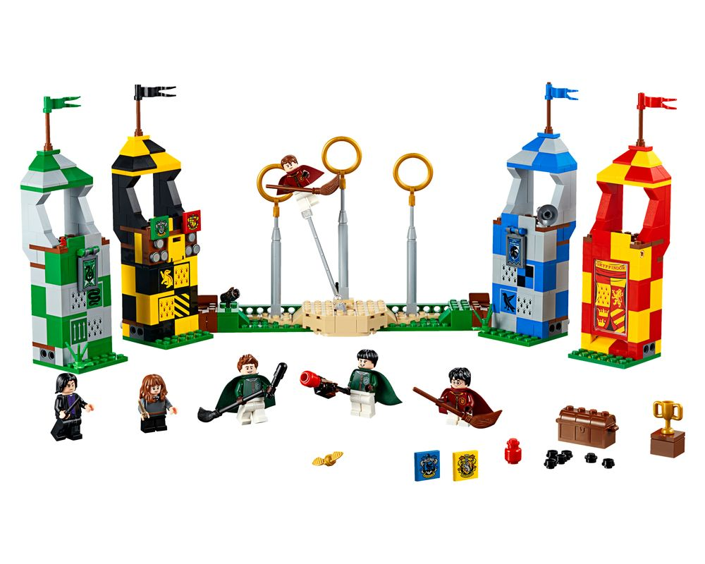 LEGO Set 75956-1 Quidditch Match (Model - A-Model)