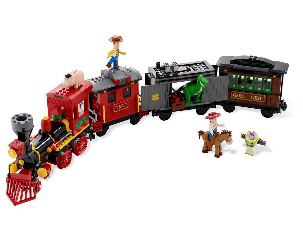 LEGO Set 7597-1 Western Train Chase (Model - A-Model)