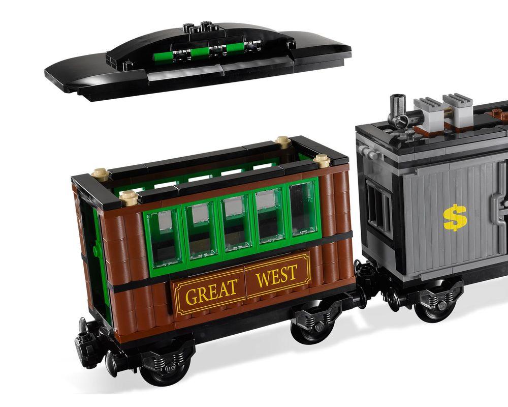 LEGO Set 7597-1 Western Train Chase