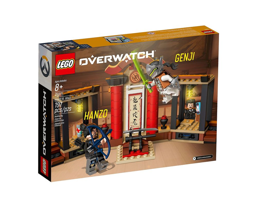 LEGO Set 75971-1 Hanzo vs. Genji
