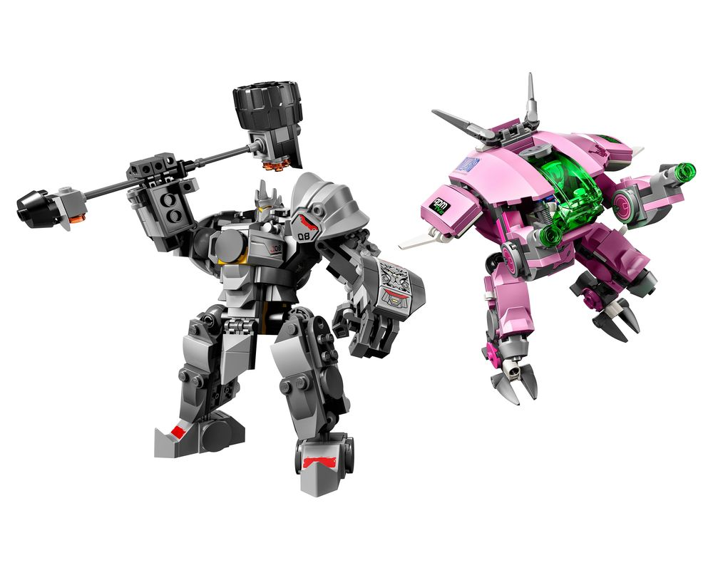 LEGO Set 75973-1 D.Va & Reinhardt (LEGO - Model)