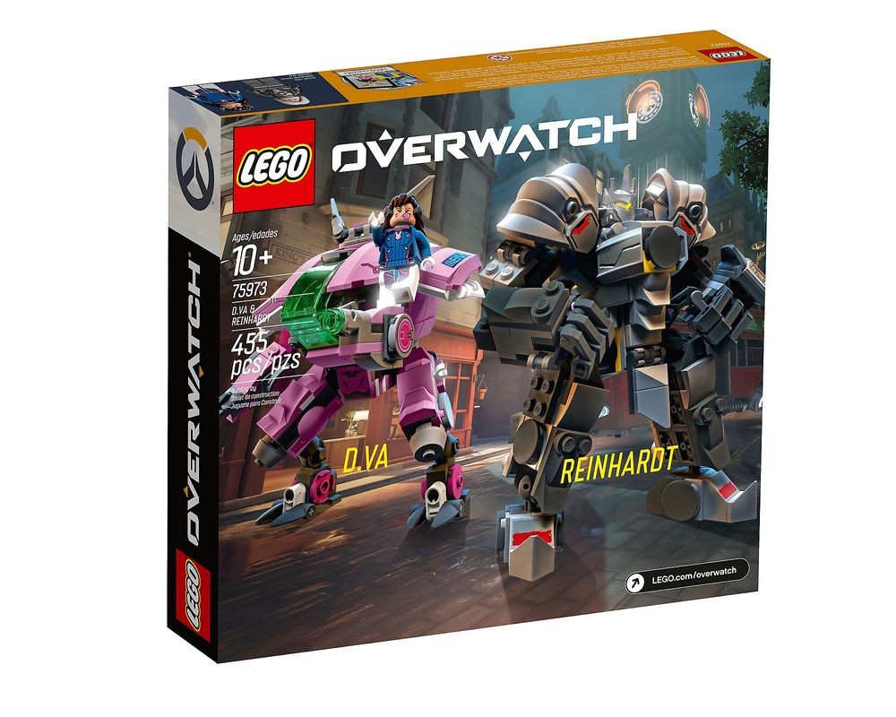 LEGO Set 75973-1 D.Va & Reinhardt